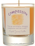 Compassion Soy Filled Glass Votive Candle