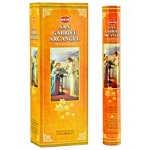 San Gabriel Archangel Incense Sticks, Hex Pack - 6 Boxes of 20 Sticks (120 Sticks)