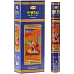 Diwali Special Incense Sticks, Hex Pack - 6 Boxes of 20 Sticks (120 Sticks)