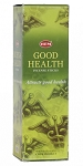 Good Health Incense Sticks, Sq. Pk - 25 Boxes of 8 Sticks (200 Sticks)