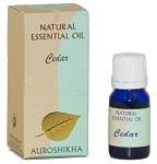 Cedar Auroshikha Natural Essential Oil - 10 ml - 1/3 fl. oz. (Each)