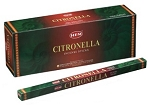 Citronella Incense Sticks, Sq. Pk - 25 Boxes of 8 Sticks (200 Sticks)