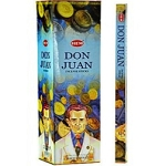 Don Juan Incense Sticks, Sq. Pk - 25 Boxes of 8 Sticks (200 Sticks)