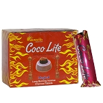 Coco Lite Natural Coconut Charcoal .33mm, Box/10 Sleeves (100 Tablets)