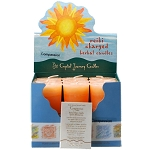 Compassion Herbal Votive Candles, Box/18