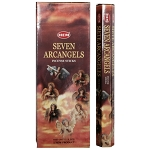 7 Archangels Incense Sticks, Hex Pack - 6 Boxes of 20 Sticks (120 Sticks)