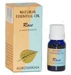 Rose Auroshikha Natural Essential Oil -10 ml - 1/3 fl. oz. (Each)