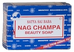 Satya Sai Baba Nag Champa Soap 75gm, Box/12
