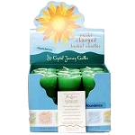 Abundance Herbal Votive Candles, Box/18