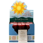 Courage Herbal Votive Candles, Box/18