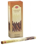 Cinnamon Incense Sticks, Sq. Pk - 25 Boxes of 8 Sticks (200 Sticks)