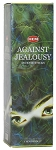 Against Jealousy Incense Sticks, Sq. Pk - 25 Boxes of 8 Sticks (200 Sticks)