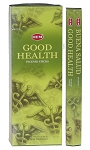 Good Health Incense Sticks, Hex Pack - 6 Boxes of 20 Sticks (120 Sticks)
