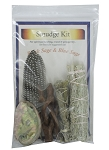 Smudge Kit - Black Sage / Blue Sage, Each