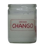 Orisha Chango 50 Hour Candle