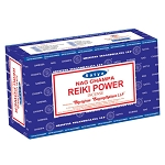REIKI POWER Incense Sticks 15 Gram, Satya  (12 Boxes of 15 Sticks = 180 Sticks)