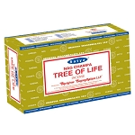 TREE OF LIFE Incense Sticks 15 Gram, Satya  (12 Boxes of 15 Sticks = 180 Sticks)