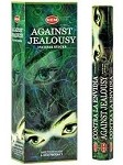 Against Jealousy Incense Sticks, Hex Pack - 6 Boxes of 20 Sticks (120 Sticks)
