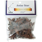 Anise Star, Whole, Packaged, 1 oz.