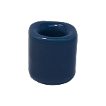 Chime Candle Holder - Blue Porcelain, Each