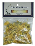 Calendula Flowers, Whole, Packaged, 0.25 oz.