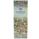 Copal Incense Sticks, Hex Pack - 6 Boxes of 20 Sticks (120 Sticks)