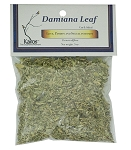 Damiana Leaf, Cut & Sifted, Packaged, 0.5 oz.