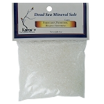 Dead Sea Mineral Salt, Coarse, Packaged, 4 oz.