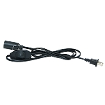Salt Lamp Dimmer Cord, Black