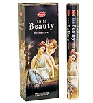 Divine Beauty Incense Sticks, Hex Pack - 6 Boxes of 20 Sticks (120 Sticks)