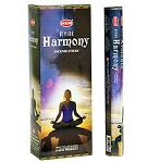 Divine Harmony Incense Sticks, Hex Pack - 6 Boxes of 20 Sticks (120 Sticks)