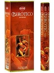 Erotic Incense Sticks, Hex Pack - 6 Boxes of 20 Sticks (120 Sticks)