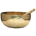 Plain Tibetan Singing Bowl, Handmade, 6.25
