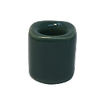 Chime Candle Holder - Green Porcelain, Each