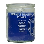 Healing 50 Hour Candle, Blue