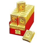 Song Of India - India Temple Incense Cones, Box/36