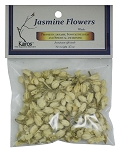 Jasmine Flowers, Whole, Packaged, 0.25 oz.