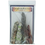 Smudge Kit - Lavender / White Sage, Each