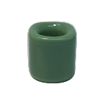 Chime Candle Holder - Light Green Porcelain, Each