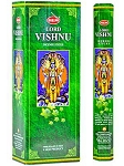 Lord Vishnu Incense Sticks, Hex Pack - 6 Boxes of 20 Sticks (120 Sticks)