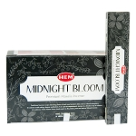 Midnight Bloom Nature Series Masala Incense Sticks, 12 Boxes of 15 Sticks