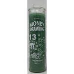Money Drawing 7 Day Candle, Green