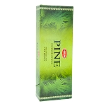 Pine Incense Sticks, Hex Pack - 6 Boxes of 20 Sticks (120 Sticks)