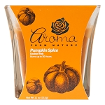 Aroma from Nature Scented Candle - Pumpkin Spice, 11oz