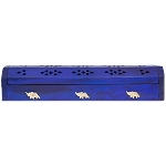 Coffin Box w/Storage - Purple, Each