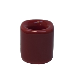 Chime Candle Holder - Red Porcelain, Each