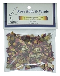 Rose Buds & Petals, Whole, Packaged, 0.25 oz.