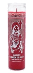 Sacred Heart of Jesus 7 Day Candle, Red