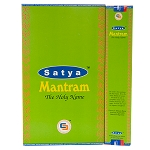 Mantram Incense Sticks 15 Gram, Satya, Box of 12
