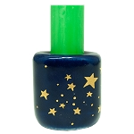 Chime Candle Holder - Blue with Gold Stars, Each